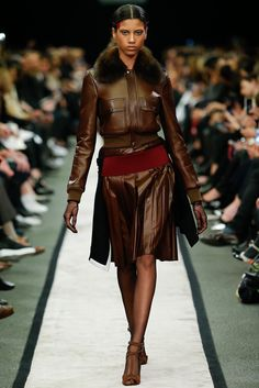 Givenchy Fall 2014 Ready-to-Wear Fashion Show - Imaan Hammam (Viva)
