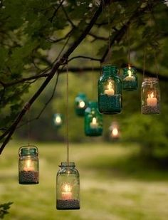 Camping candle light