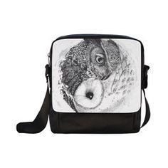 OWL Crossbody Nylon Bags (Model 1633) Nylon Bag, My Animal, Dreaming Of You, I Shop, Owl, Bags, Handbags, Owls, Bag