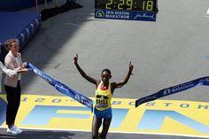 Boston Globe - Ethiopia's Atsede Baysa surges to women's title John Hancock, Boston Marathon, Ethiopia, Globe, Women, Speech Balloon, Woman