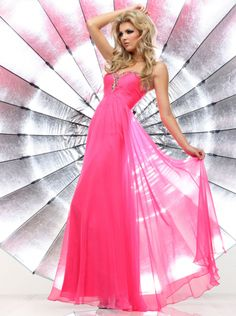 A-line Sweetheart Pink Long Prom Dress /Formal Dress/Evening dress Davinci 71314