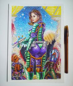 "Echa un vistazo a mi proyecto @Behance: ""Sonnya. space prospector"" https://www.behance.net/gallery/59823917/Sonnya-space-prospector"