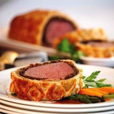 Gordon Ramsay Beef Wellington Recipe - also includes video demo by Chef Ramsay