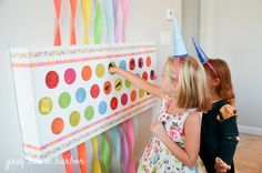 really loving this idea for party favors - just as exciting as an advent calendar // Rainbow Pegacorn (Pegasus + Unicorn) Birthday Party Birthday Party Punches, Rainbow Birthday Party, Art Birthday, Unicorn Birthday Parties, 1st Birthday Activities, Home Birthday Party Ideas, Rainbow Party Games, Kids Art Party, 1st Birthday Party Games