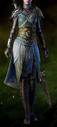 Ancient Elven Robes is a unique light armor in Dragon Age: Inquisition. - Solas would think this is interesting now wouldn't he?