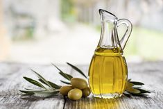 We think that knowing the health benefits of olives and olive oil is very important, since we consume both of them every day. Did you know olive oil can. Olives, Olive Oil Hair Treatment, Face Treatment, Olive Oil Benefits, Blood Pressure Remedies, Cooking With Olive Oil, Cooking Oil, Avocado Oil, Homemade Ice Cream