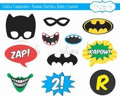 #Gráfica #Cumpleaños #Batman #Robin #Batichica #Guasón #Photobooth realizada para #CompañíadeFiestas