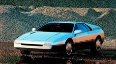 1984 Ford Maya Concept by Italdesign; it was based on a Ford, but the exact model is unknown. It was planned to go into production, but Ford scrapped the plans to avoid a lawsuit from Lotus because it looked too much like the Lotus Etna Concept by ItalDesign from the same year.