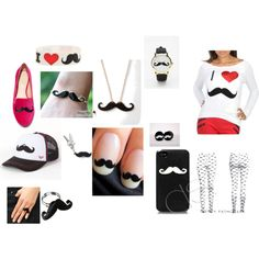 mustache things
