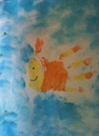 New Mama's Corner: Beach Handprint Art ideas...these won't leave you crabby
