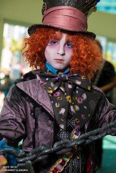 Hatter Alice in Wonderland #SDCC2014