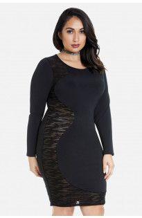 Taylor Swirl Side Bodycon Dress