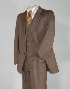 Vintage Mens Suit Late 1960s HARDY AMIES 3 Three by jauntyrooster, $225.00 #madmen #lanepryce