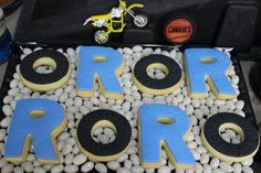 Dirt Bike Themed Birthday Party with Lots of Awesome Ideas via Kara's Party Ideas | Kara'sPartyIdeas.com #Motorcross #DirtBike #Party #Ideas #Supplies (22)
