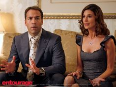 Ari Gold and Mrs. Ari Gold.