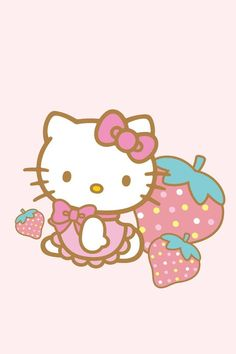 strawberry ♡ | Hello Kitty