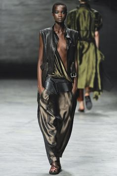 See the complete Haider Ackermann Spring 2012 Ready-to-Wear collection.