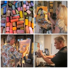 Local artist demos at #ChemersGallery in #Tustin, images by Heather Weishlow #OCPhoto2017 #OrangeCounty #SoCal #oclife #californialiving
