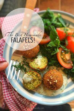 Homemade Falafel Recipe (Best Falafels Ever!)