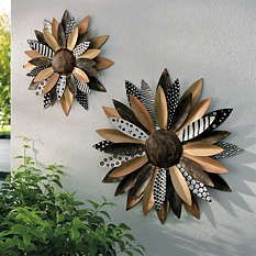 Products in Shop All Wall Art & Mirrors, Wall Decor Mirror Wall Art, Metal Wall Art, Mirrors, Flower Artwork, Flower Wall, Blossom Flower, Flower Petals, Flower Petal Template, Deck Party