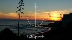 """Qué suerte encontrar por el camino esas sensaciones, momentos y personas que entran en tu vida y se quedan ancladas en el alma para siempre...  """"...y si caes, haz como el sol que cae cada tarde y se levanta cada mañana""""  #marquerida #cadizfornia #sunset #surf #siempre #amalavida"""