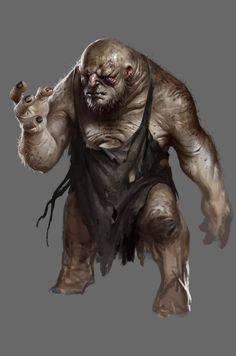 Bert the troll, by Daarken for the game The Hobbit: Battle of Five Armies