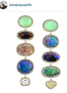 Irene Neuwirth opal earrings
