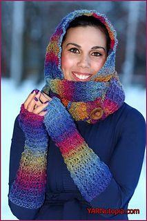 I'm about to heat things up with my Warm Waffles Hooded Cowl and Handwarmers Set! Using the Waffle Stitch, I designed this great two-piece combo that will keep you nice and cozy from the col… Crochet Hooded Cowl, Knit Crochet, Crochet Hats, Crochet Headbands, Hood Pattern, Free Pattern, Front Post Double Crochet, Waffle Stitch, Crochet Scarves