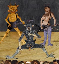 NETHERWORLD  DEVILS COVERS BOOTIK'S 'HYPERIUM SUITE :: BOOTIK MOOSIK's lawyers declined to comment but insist that the boys in the band have absolutely nothing to do with the horned one or his minions. But they do acknowledge that a fan is still a fan...