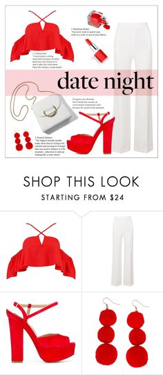 """Summer Date 12"" by agathocleous ❤ liked on Polyvore featuring Boohoo, Roland Mouret, Dsquared2, Humble Chic, Clinique, Summer, DateNight, contest and summerdatenight"