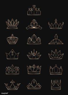 Royal Crowns, Crown Royal, Tiaras And Crowns, Queen Crown, Corona Logo, Corona Real, Royal Diamond, Royal Logo, Crown Drawing