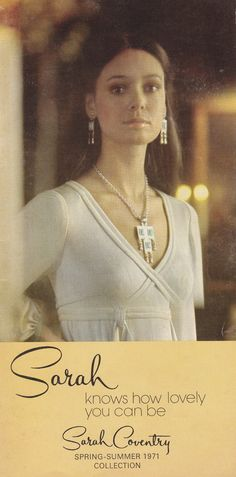 Sarah Coventry PDF Catalog Vintage 1970s Catalog by TheBeadSource