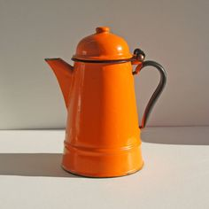 I would love to have an enameled coffee pot