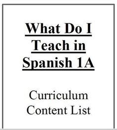 How languages are learned download read online pdf ebook for free this is a detailed list of everything that i teach in the first part of spanish fandeluxe Choice Image
