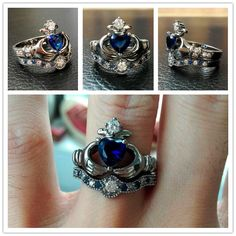 Evolees Claddagh Rings $69 | Click the image to buy | #Jewelryunder100 #Evolees #Claddaghring #Crownring