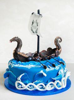 Ne plac provocarile, astfel am reusit sa realizam si acest model atunci când am primit întrebarea daca putem realiza un tort cu o carabie vikinga. Oricare ar fi dorinta ta in ceea ce priveste tortul aniversar, noi promitem sa incercam sa o îndeplinim. Birthday Cake, Cake Ideas, Desserts, Food, Model, Vikings, Food Cakes, Tailgate Desserts, Deserts