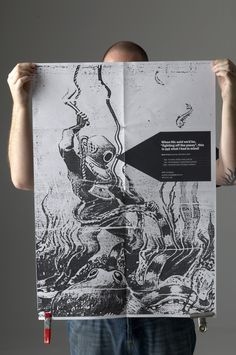Bux Party invitation & poster. Design: sector7g.com.au