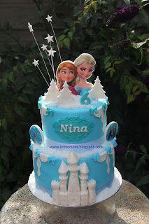 lekker zoet: Frozen voor Nina....