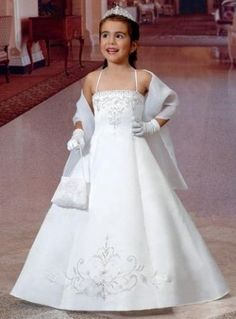 Wedding Dresses Cupids / Flower Girl Collection Style #F06