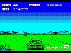 Out Run on ZX Spectrum