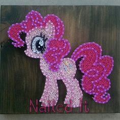 Etsy listing at https://www.etsy.com/listing/228816066/my-little-pony-pinkie-pie-string-art