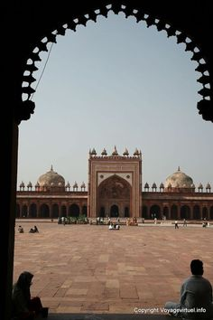 Fatehpur Sikri Mosque India pictures Rajasthan -