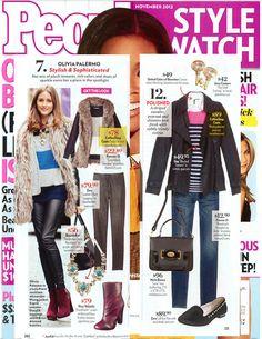 CoffeeShop Coats - People StyleWatch - November 2012 Issue