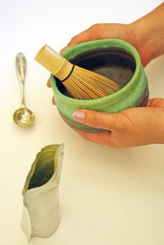 3 methods for preparing matcha tea.