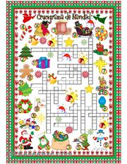 Crucigrama de Navidad                                                                                                                                                                                 Más