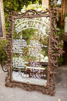 #seating-chart, #mirror. Photography: Jeff Youngren - theyoungrens.com/