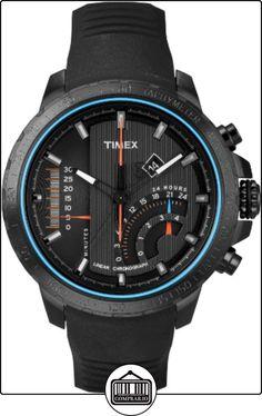 Timex T2P272D7 - Reloj de cuarzo para hombres, color negro de  ✿ Relojes para hombre - (Gama media/alta) ✿