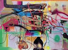 albert oehlen collages - Google Search