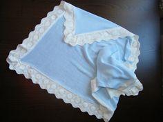 Manta Bebé de Punto - Knitted Baby blanket de gotitasdecielo en Etsy