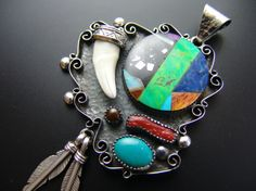 Native american mexican jewellery - Made it from Kokopelli Guadarrama :-) Mexican Jewelry, Turquoise Bracelet, Native American, Jewelry Making, Jewellery, Bracelets, How To Make, Semi Precious Beads, Amulets